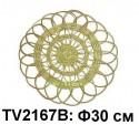 Панно круглое настенное для цветов Ф30см TV2167B