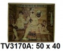 Панно бамбук с рисунком баня 50*40 см  TV3170A-5
