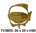 Фруктовница с рисунком Рыбка TV3803-G
