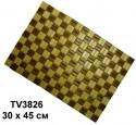 Сидушка бамбука  30*45 см TV3826-AA