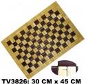 Сидушка бамбука  30*45 см TV3826-E